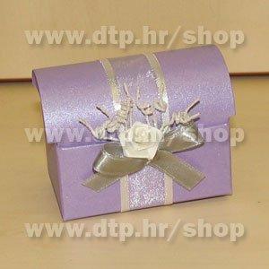 Pozivnica ili konfet s tiskom Lila P03