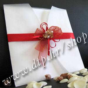 000pz04712 Pozivnica za vjenčanje s tiskom