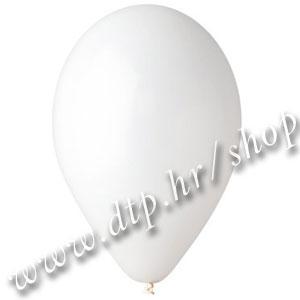 0-Balon pastel 20 kom bijeli 28cm