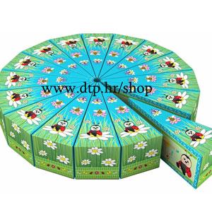 Torta od papira Bubamara (16 kutijica) - rasprodano