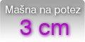Mašna 3cm