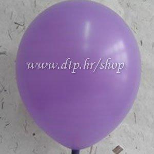 Balon pastel 50 kom lila 30cm