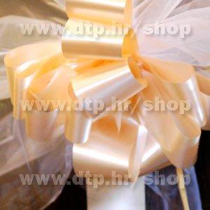 270024 mašna (na potez) 5cm marelica