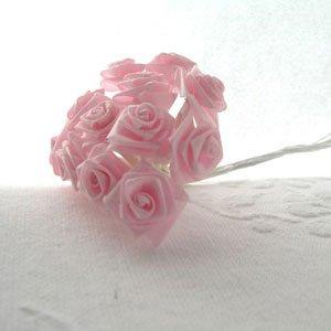 20028156 Satenska ružica roza 12kom