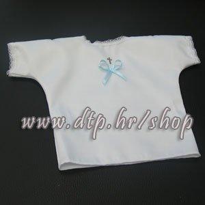 Krsna košuljica sa plavom mašnom
