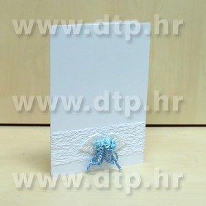 Zahvalnica ili pozivnica Vesela01-6  s tiskom