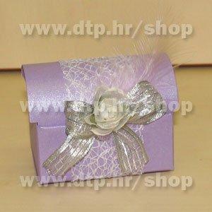 Pozivnica ili konfet s tiskom Lila P02