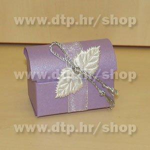 Pozivnica ili konfet s tiskom Lila P04