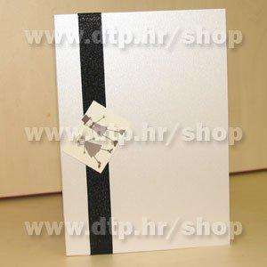 ABC03 Pozivnica ili zahvalnica s tiskom i kuvertom