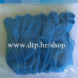 Balon pastel 20 kom plavi 25cm