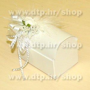 Pozivnica/konfet 0309 škrinjica s tiskom