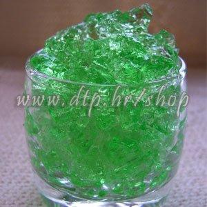 Dekorativni gel - GRANULE 10GR zelene