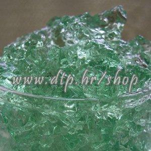 Dekorativni gel -GRANULE 10GR tamno zelene