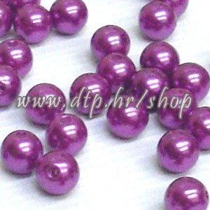 62017 Acryl perlice ljubičaste 10mm/100 gr