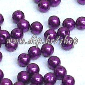 61003 acryl perlice ljubičaste 6mm/100gr