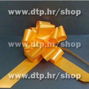 270031 mašna (na potez) 3cm narančasta