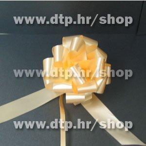 270052 mašna (na potez) 3cm breskva