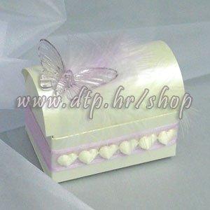 03 Škrinjica Leptir s tiskom (pozivnica ili poklon)