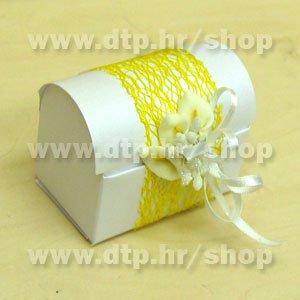 Pozivnica ili konfet Kala 01 s tiskom