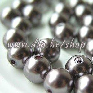 62214 Acryl perlice boja kave 10mm/100gr