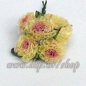 0450162-1 ružica 6 kom bež-roza