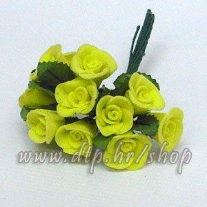 0450067 ružica 12 kom žuta