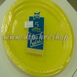 1382 Plastične TACNE 5/1 32x25 CM žute