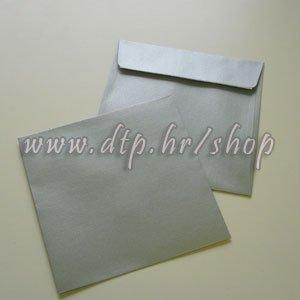 Kuverte srebrne 16x16, 110g, sjajne