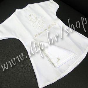 001-1 Krsna košuljica + maramica - srebro