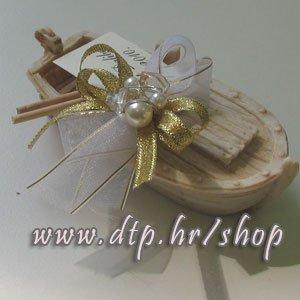 0017 Brodić s dekoracijom i tiskom