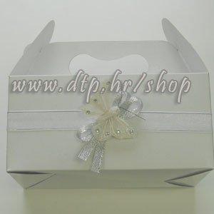 Kutija za kolače Bijeli leptir