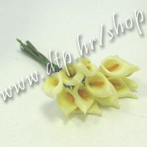 20136103 Vrtna kala žuto-bež mala 72 kom