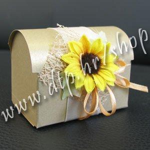 Pozivnica ili konfet Suncokret pz01812 s tiskom