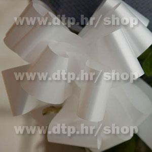 270037 mašna (na potez) 3cm bijela