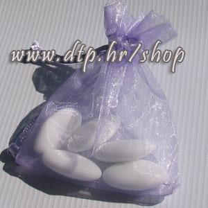 330050 Vrećice organdi 12x16cm -12kom/lila