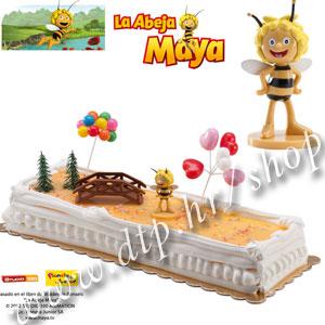DK350026 Set plastični za dekoriranje torti Pčelica Maja