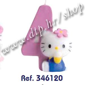 DK346117-126 Rođendanski broj Hello Kitty br.4