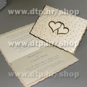 00872397 Pozivnica s tiskom i kuvertom