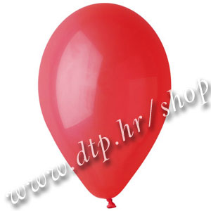 Balon pastel crveni 32cm