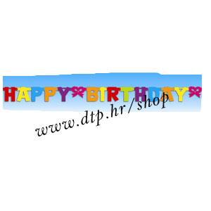 109773 HAPPY BIRTHDAY GIRLANDA 2,1m