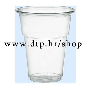 50340 PVC kristal čaše 50/1 3dl