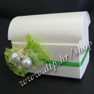 000pz10212 Škrinjica s tiskom (pozivnica ili konfet)