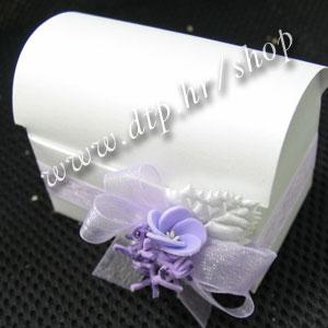 000pz09912 Škrinjica s tiskom (pozivnica ili konfet)