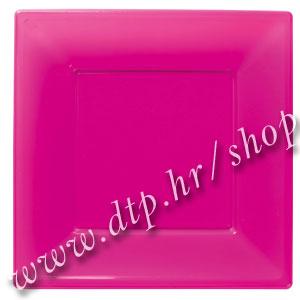 118400 PVC TANJURI CIKLAMA 8/1 23x23cm