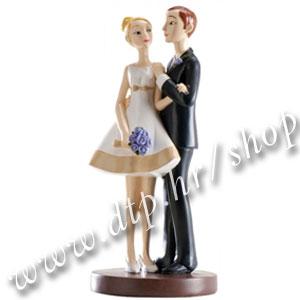 DK305019 Ukras za svadbenu tortu