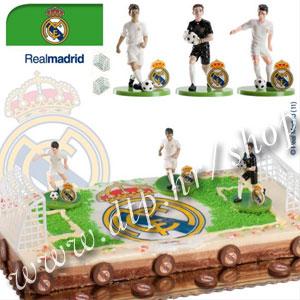 DK350013 Set za dekoriranje torte Real Madrid