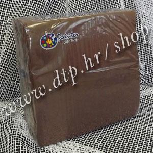 Salvete čokolada 38x38 soft (40 kom)