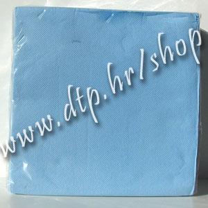 Salvete svj. plave 38x38 soft (40 kom) š783 - rasprodano