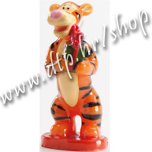 DK346005 Rođendanska svjećica Winnie the Pooh 3D/Tigar
