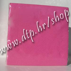 Salvete tamno roza 38x38 soft (40 kom) š578